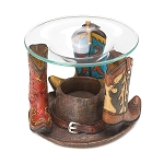 Rodeo Cowboy Boots Oil Warmer
