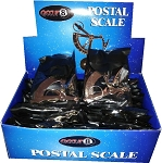 30 hand held postal chrome pocket scales weighs ounces grams