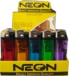 Neon 50 Count Disposable Lighters