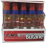 Neon Butane Lighter Fluid 20 Pack 18ml