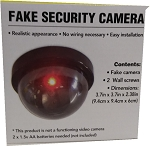 Fake security Camera With Flashing Light