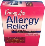 Prime Aid Allergy Relief 30 count