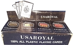 Usaroyal Plastic Playing Cards
