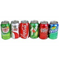 Soda Safe Stash Cans 1 each Assorted Styles