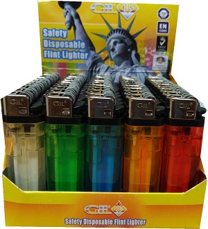 Disposable lighters 50 count